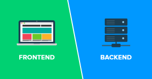 Frontend diferencia Backend